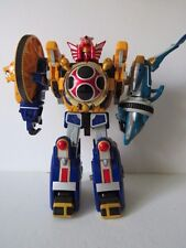 Mighty Morphin Power Rangers Deluxe Ninja Storm Storm Power Megazord