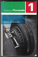 Histoire de la formule 1 1954-60 par jenkinson pub grenville 1960 circuits voitures pilotes
