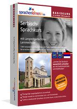 SERBISCH lernen! XL INTENSIV-Sprachkurs für PC und Smartphone + MP3-AudioCD