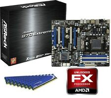 AMD FX-8150 Eight CORE CPU EXTREME 4 MOTHERBOARD 32GB DDR3 MEMORY RAM COMBO KIT