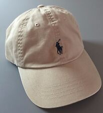 POLO Ralph Lauren Classic Pony Cotton Sport Cap Men's Hat Khaki Beige Tan New