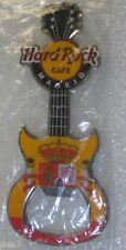 Hard Rock Cafe,MADRID,BOTTLE OPENER MAGNET Flag