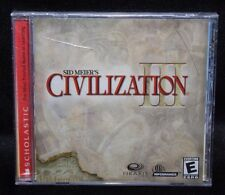 Sid Meier's Civilization III PC Game New Sealed
