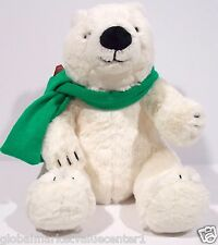 BATH & Body Works SNOWBALL POLAR WHITE BEAR LIMITED STUFFED ANIMAL medium NEW