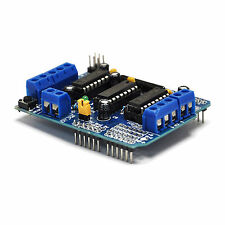 New Motor Drive Shield Expansion Board L293D for Arduino Duemilanove UNO Mega R3