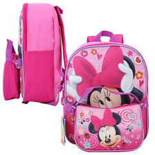 Disney Minnie Mouse Toddler Kids Girls Preschool Mini Backpack + Lunch Bag Purse