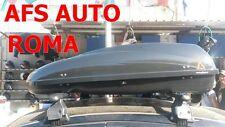 BOX AUTO AFS PORTAPACCHI PORTABAGAGLI G3 HELIOS 400 MADE IN ITALY OMOLOGATO