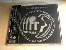 V.A. ffrr Platinum On Black JAPAN CD w/OBI NEW ORDER ORBITAL UTAH SAINTS m765