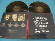 Madeleine Renaud & Jean-Louis Barrault Disent Guy Beart - France 2xLP + Booklet