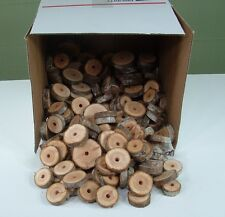 200 Fir Wood Coins Macaw Parrot Bird Toy Parts