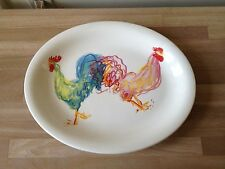 Lovely Tiffany & Co Rooster Large Oval Serving Platter