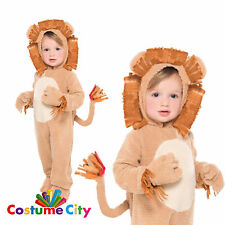 Baby Toddler Plush Loveable LION Fancy Dress Animal Costume 12-24 Months