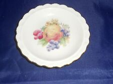 Winterling Marktleuthen Bavaria Fruit Miniature Plate Western Germany 4-1/4""