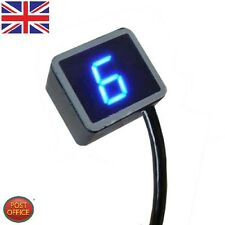 LED Universal Digital Gear Indicator Motorcycle Display Shift Lever Sensor cth