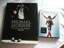 Michael Jackson Book (The Man in the Mirror) and( This is it) DVD