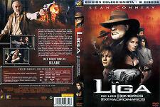 DVD LA LIGA DE LOS HOMBRES EXTRAORDINARIOS, COMO NUEVA!!!