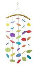 Muschel Windspiel Regenbogen bunt 64 cm Dekoration Fenster Fensterhänger