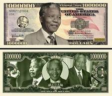 NELSON MANDELA BILLET DOLLAR US! Collection PRESIDENT AFRIQUE DU SUD Apartheid