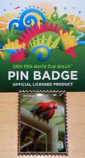 Pin + cartel motivo 6 + 2014 FIFA World Cup Brazil + 3,0x2,5 cm + embalaje original licencia #18