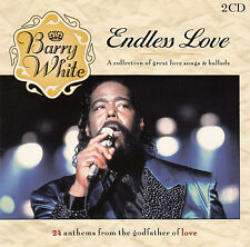 BARRY WHITE : ENDLESS LOVE - A COLLECTION OF GREAT LOVE SONGS & BALLADS / 2 CDs