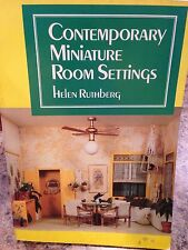 Contemporary Miniature Room Settings Book Helen Ruthberg Doll House