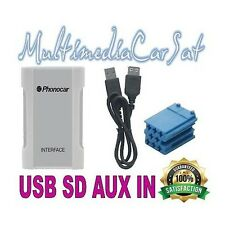 Phonocar 5/887 Interfaccia USB AUX SD MP3 Musica Alfa 147 159 GT Iphone