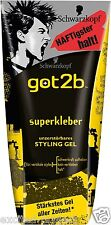 Schwarzkopf got2b Super Power Glue Gel - Massive Spike Hold - 150ml / 5.07 fl oz