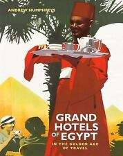 GRAND HOTELS OF EGYPT - NEW PAPERBACK BOOK