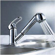 Single Lever Kitchen Sink Faucet Basin Tap Chrome Deck Mount Top Grade M3018CP-T