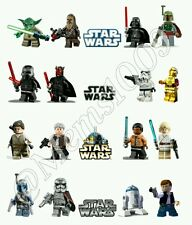 Star Wars Lego Nail art water decals  Free US  Shipping