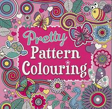 Pretty Patterns Colouring - Adult/Childrens Colouring Book - Nice Bold Designs