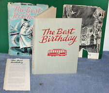 Vintage Book - The Best Birthday by Quail Hawkins 1954 Junior Books w Dust Cover