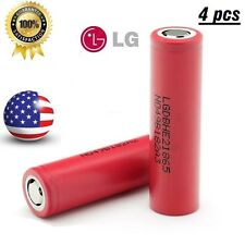 Authentic 4- LG 18650 HE2 2500mAh 35A High Drain Rechargeable Li-ion Battery