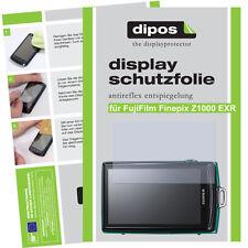 2x Fujifilm Finepix Z1000 EXR Protector de Pantalla protectores mate