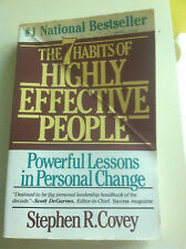 The Seven Habits of Highly Effective People by Stephen R. Covey (1990 STORE#3215
