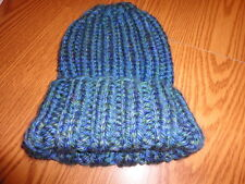 Pattern for super easy knitted hat - bulky yarn = speedy knitting