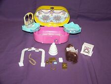 Vintage 1993 Mini Caboodles Wedding Play Set With Accessories By Toy Biz In GUC