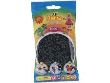 Hama - 207-71 Sachet 1000 Perles à repasser Gris Foncé