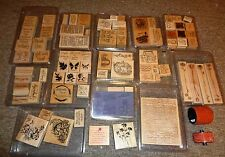 Stampin Up HUGE LOT of  Sets Retired & More  New & Lightly Used Sets. WOW LOOK !