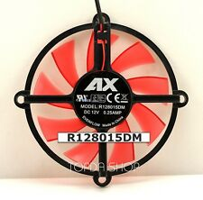 AX gtx650 R128015DM Graphics card fan DC12V 0.25A Hole distance64MM Blade76MM