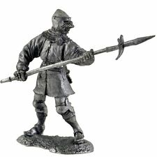 Knight of the Teutonic Order Tin toy soldiers.54mm miniature metal sculpture