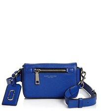 NWT  MARC JACOBS $295 COBALT BLUE GOTHAM CITY CROSSBODY BAG