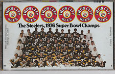 IRON CITY BEER CAN PROOF 1976 STEELERS SUPER BOWL CHAMPS