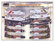 AOA Decals 1/32 VIETNAMESE SPADS DOUGLAS AD-6 & A-1H SKYRAIDER Part 2