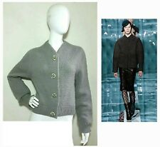 """MARC JACOBS """"RUNWAY"""" ITALY ~FAB CHUNKY KNIT-JACKET~ CARDIGAN SWEATER $1,095 S"""