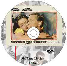 Beyond The Forest Bette Davis, Joseph Cotten, David Brian Film Drama DVD 1949