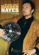 Darren Hayes: A Big Night in with Darren Hayes New Region 2 DVD