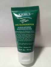 Kiehl's Oil Eliminator 24 Hour Anti-shine Moisturizer For Men 2.5 Oz New