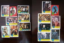 Teenage Mutant Ninja Turtles The Movie Photo Trading Cards x 15