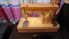 Vintage Singer Fashion mate 360 Sewing Machine With Case Made in Italy